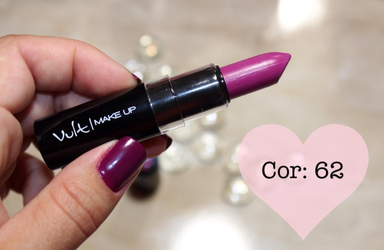 Batom do Momento: Vult Makeup Cor 62