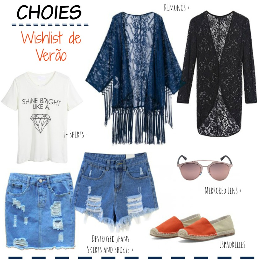 Choies Wishlist verao