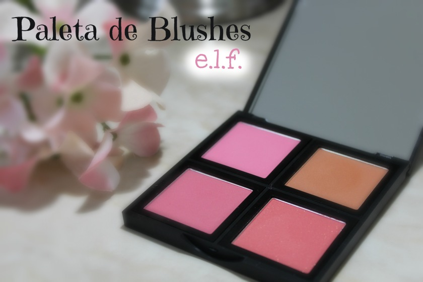 paleta de blushes elf